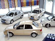Итоги продаж авто в России за 2009 год