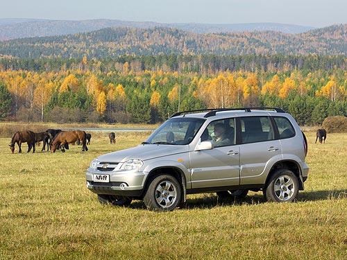 Chevrolet Niva стала доступнее на 30 000 грн. - Chevrolet