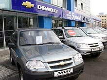 Chevrolet Niva доступна в кредит на 5 лет без первого взноса