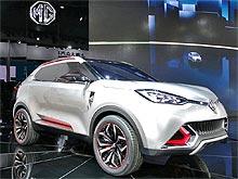 MG выпустит свой первый кроссовер MG CS уже в 2014 году - MG