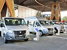 ГАЗ на выставке в Ганновере представляет коммерческий транспорт нового поколения. Фото