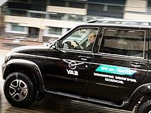 УАЗ тестирует газовый УАЗ ПАТРИОТ CNG