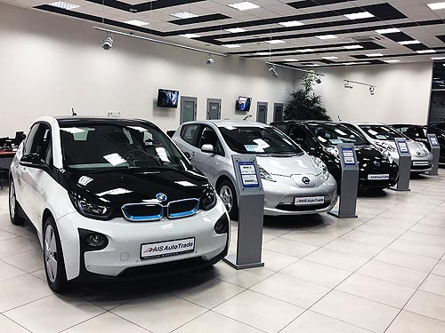 Крупный автотрейдер открывает салон по продаже электромобилей с пробегом