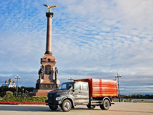 В Украине стартовали продажи 7-ми местной версии ГАЗон Next - ГАЗон