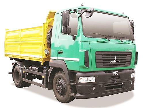 В Украине запустили в производство новую модель грузовика - МАЗ