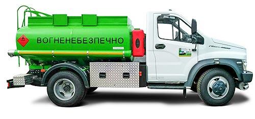 В Украине появилась новая модель топливозаправщика - топлив