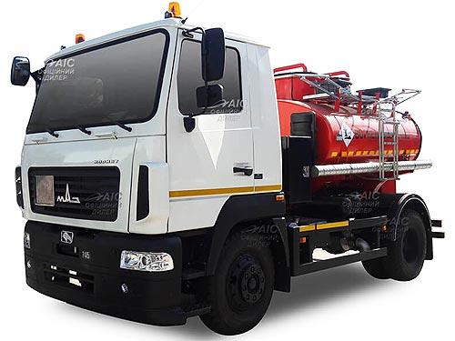 В Украине стартовало производство и продажи 2-х моделей топливозаправщиков на базе МАЗ
