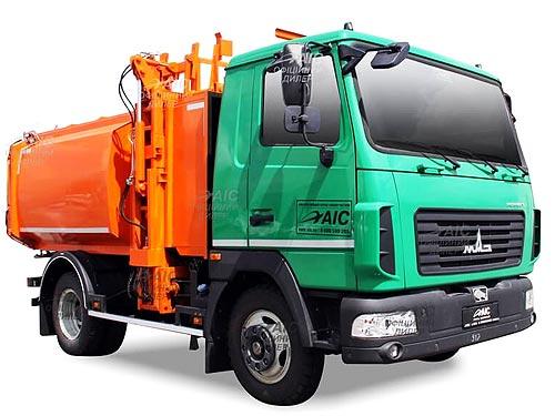 В Украине стартовало производство еще одной модели мусоровоза