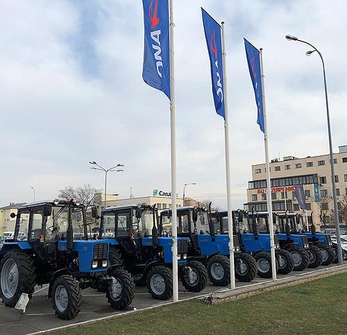 Трактора BELARUS доступны в кредит или лизинг с пониженной % ставкой - BELARUS