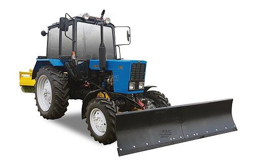 В Украине доступна линейка тракторов BELARUS для коммунальных служб