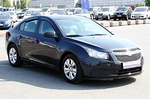 В Украину поставили партию Chevrolet Cruze из США по цене от $ 8 244
