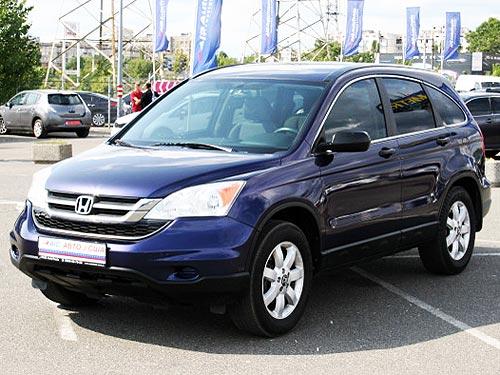 В Украине начались поставки б-у Honda CRV из США по цене от $10 669