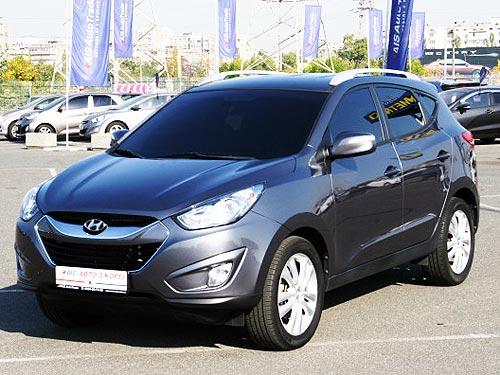 В Украину завезли топовые Hyundai IX35 с пробегом по цене от 295 120 тыс. грн.