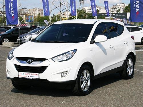 Б-у кроссоверы Hyundai Tucson можно купить с выгодой до 35 000 грн.