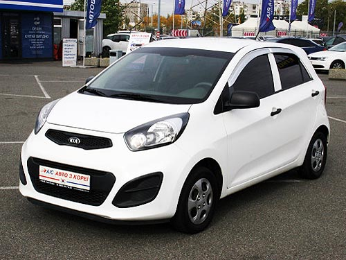 В Украину начались поставки Kia Picanto с пробегом по цене от 210 тыс. грн.