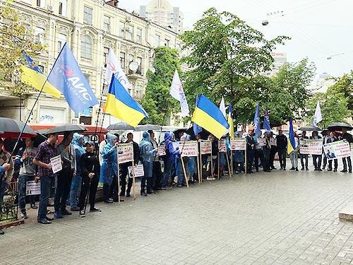 Сотрудники АИС начали бессрочную акцию протеста