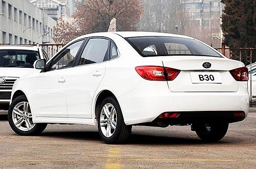 На новый седан FAW B30 действует скидка 10 000 грн. - FAW