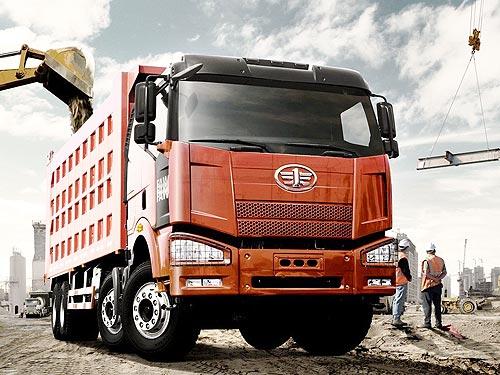 Самосвал FAW J6P можно приобрести в лизинг от 23 900 грн. в месяц