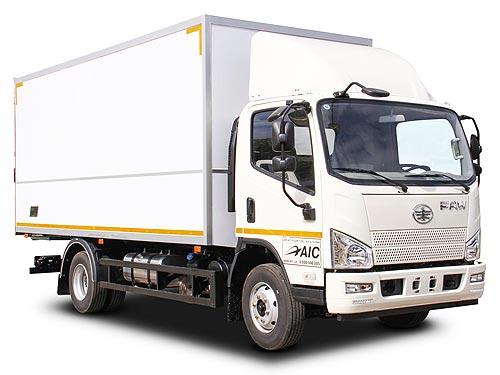 В Украине стартовало производство новой модели грузового фургона FAW