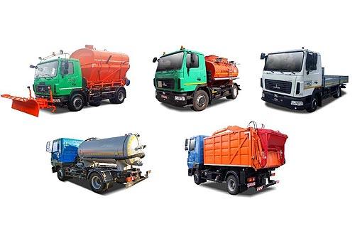 Коммунальная и спецтехника МАЗ доступна с выгодой до 300 тыс. грн.