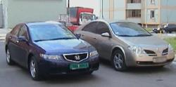 Тест-драйв: Honda Accord против Nissan Primera. Очная ставка