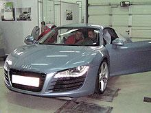 Летающий техник Audi посетил Ауди Центр «АИС Донецк-Премиум» - Audi