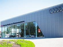 Во Львове открылся концептуальный Терминал Audi