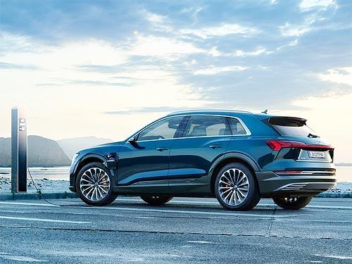 Audi e-tron стал мировым лидером в сегменте электрокроссоверов - Audi
