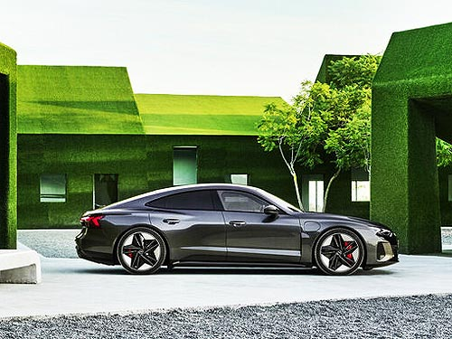Audi представила свой новый электрический флагман - Audi e-tron GT