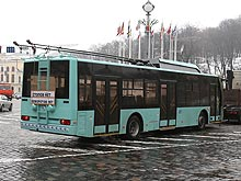 В Чернигове разработали собственный троллейбус - Эталон