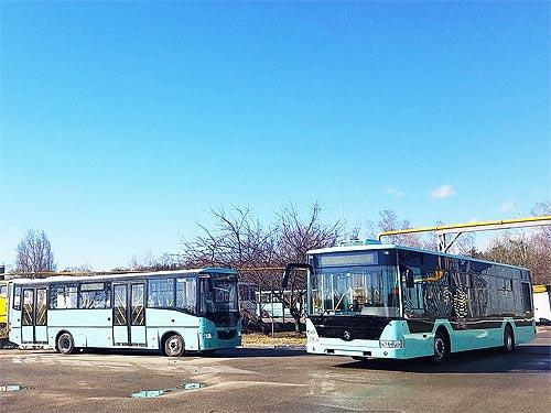 «Черниговский автозавод» завершает разработку электробуса с динамической подзарядкой и городского автобуса Евро-6