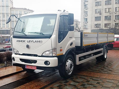 Корпорация «Эталон» начала сборку нового грузового автомобиля в Украине