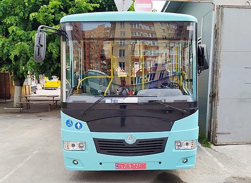 Автобус «Эталон» приехал в Тернополь - Эталон