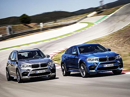 BMW представляет новые BMW X5 M и BMW X6 M - BMW