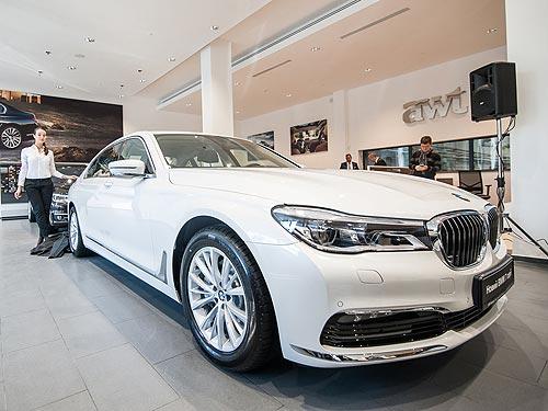 На BMW 7 серии действует специальное предложение - BMW
