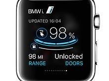 Электромобилями BMW i можно будет управлять с помощью умных часов Apple Watch