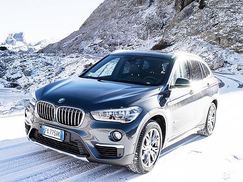 На BMW X1 в декабре действуют праздничные цены