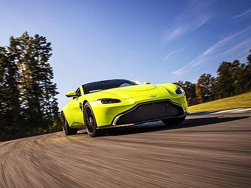 Aston Martin представил новый Vantage