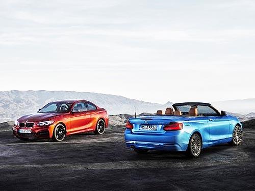 Какими будут новые BMW 2 серии Купе и Кабриолет. Фото - BMW