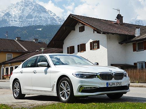 Летом действуют специальные предложения на BMW 5 серии