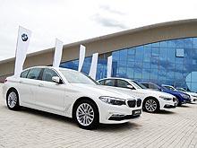 BMW в Украине провел турнир по гольфу и представил все популярные модели
