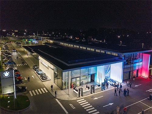 В Украине открылся крупнейший в Восточной Европе центр BMW