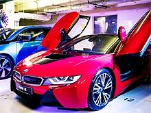 BMW в Украине представила электрический BMW i3 и гибридный спорткар BMW i8 - BMW