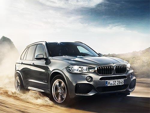 На внедорожники BMW X серии действует специальное ценовое и кредитное предложения
