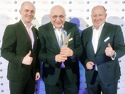 Александр Тимофеев получил награду «Менеджер года» от BMW