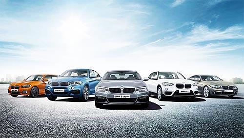 На автомобили BMW 2017 года действуют специальные ценовые предложения - BMW