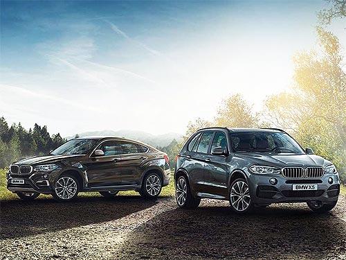 На автомобили BMW 2017 года действуют специальные предложения