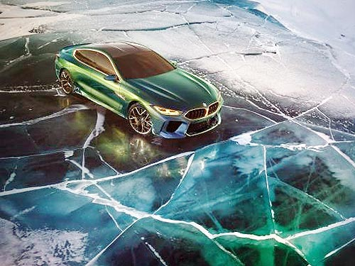BMW представляет флагманский концепт BMW Concept M8 Gran Coupe - BMW