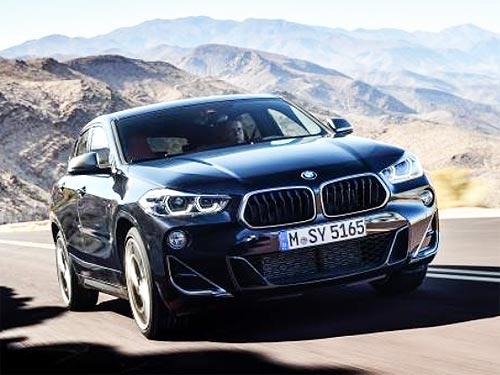 BMW представил самый мощный компактный кроссовер X2 M35i