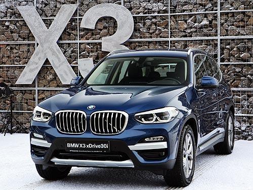 Чем будет поражать абсолютно новый BMW X3 в Украине